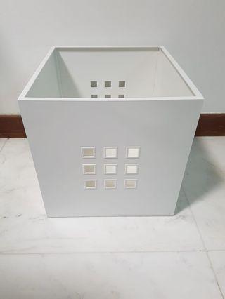Kallax white lekman insert drawer