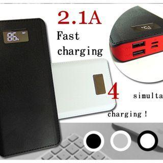 30000mAh 4 output Dual Input Fast Charging Power bank