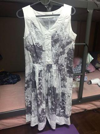 🚚 無袖氣質長裙