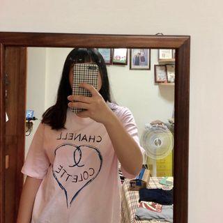 🚚 粉色韓版可愛氣質上衣