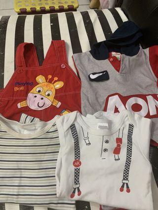 #BAPAU baju bayi take all 100rb