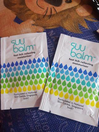 🚚 Both @$2 Suu balm sample