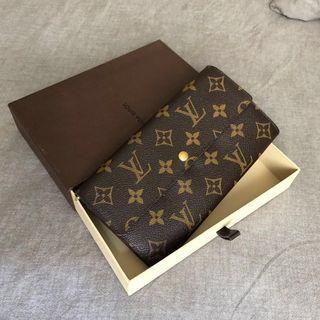 ⭐️AUTHENTIC Louis Vuitton Monogram Sarah Vintage Long Wallet