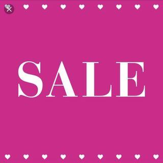 Sale (everything dropped to 1/2 price)