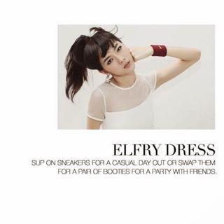 Clearance! Love Bonito Elfry Dress White M