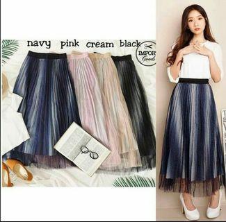 Tutu Skirt warna Navy