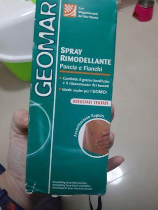 famous  Italian  brand  Geomar 減肥噴霧