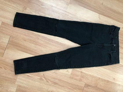 BDG Black High Wasted Jeans (Size 29)