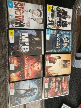Loads of movies