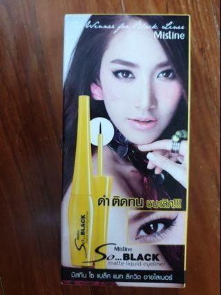 Mistine So Black Matte Liquid Eyeliner