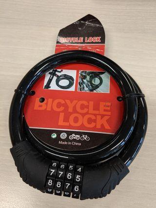 Bicycle lock number lock renovation lock