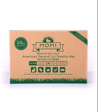 Momi Second Cut Hay for rabbits, guinea pigs