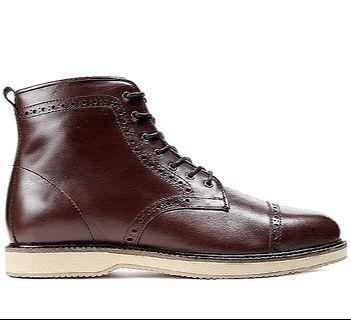 Leather Boots Ftale Henry Captoe brown