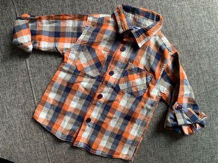 Baby Boy Long Sleeve Shirt 12-18 months BNWOT