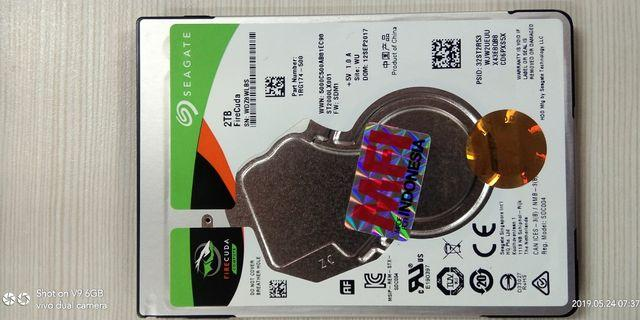Hardisk Seagate SSHD 2TB for laptop