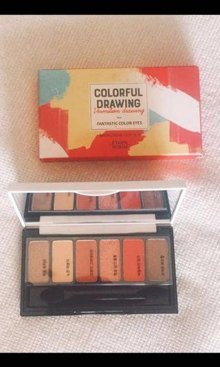 Etude House Colorful Drawing Fantastic Color Eyes (Vermillion drawing)