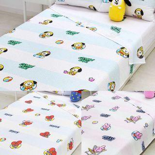 BT21 Ripple Blanket Tata/Chimmy/Cooky