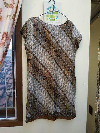 Mididress batik