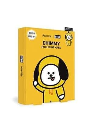 MEDIHEAL BT21 FACE POINT MASK