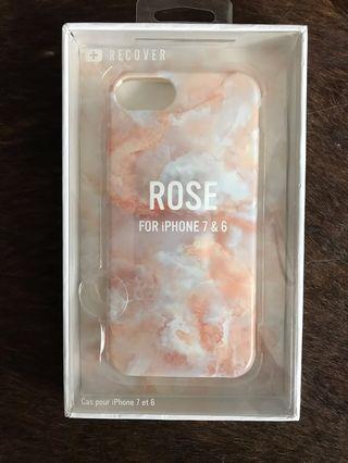 iPhone 6/7 Rose Quartz Case, BNIB
