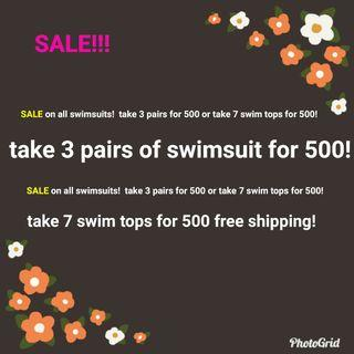 SALE on all swimsuits on my page!