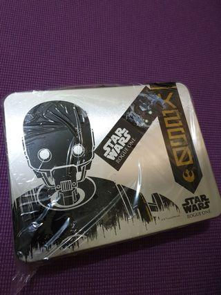 FREE SHIPPING Collectible Star wars Rouge One Gift Box