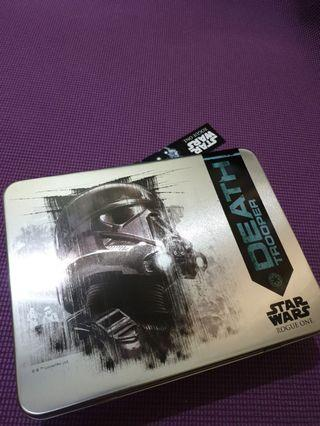 FREE SHIPPING Collectible Star Wars Death Trooper Gift Box Tin