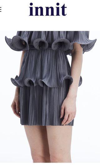 🚚 Innit skirt classic short grey