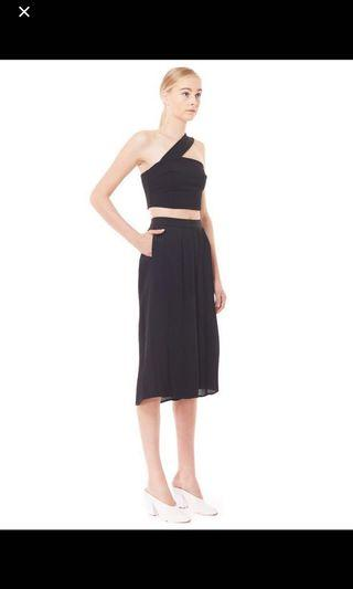 🚚 Collate pleated wide leg culottes