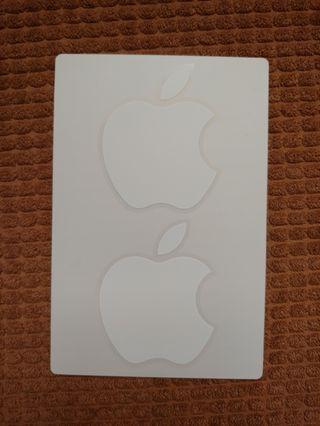 🚚 Original Apple logo sticker