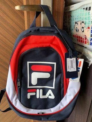 🚚 Authentic FILA Backpack for Kiddos
