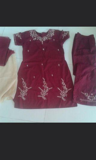 Full set punjabi suit with embroidery (NEW)