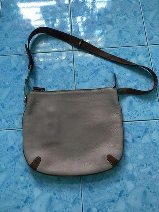 Aigner leather sling bag made in Italy