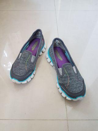 Skechers女童 健走 走路便鞋-20cm