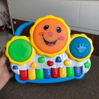 Musical activity piano drums