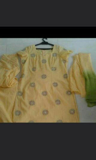 New mirrorwork & embroidery punjabi suit