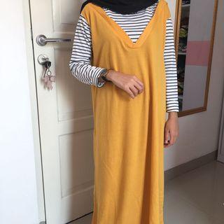 Long Dress Yellow