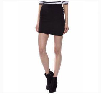 Cotton On Black Bandage Skirt