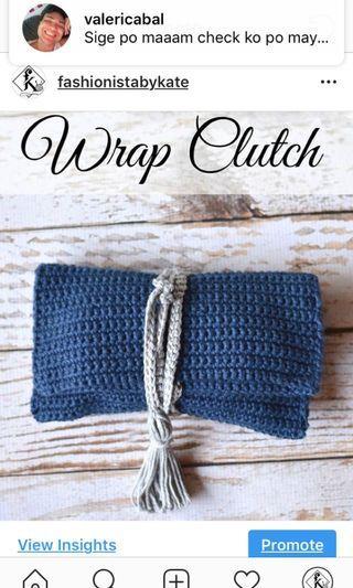 Handmade Wrap Bag