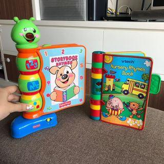 Fisher price vtech music sing along book