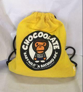 CHOCOLATE X BABY MILO @ A BATHING APE BAG