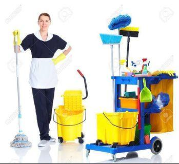 WE ARE HIRING PART TIME CLEANERS