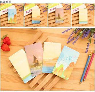Mini Notebook Pocket notebook80k迷你记事本 口袋小本