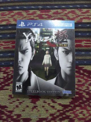 Yakuza Kiwami Steelcase edition PS4