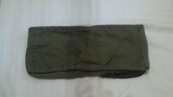 美軍公發 無線電袋