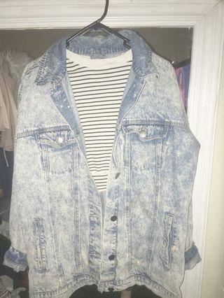 XS OVER SIZED DENIM JACKET