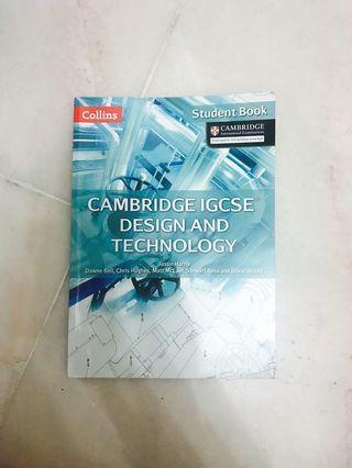 Cambridge IGCSE Design & Technology