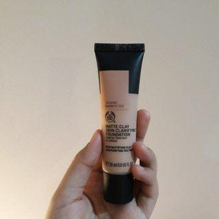 MATTE CLAY SKIN CLARIFYING FOUNDATION (SHADE SAGANO BAMBOO #023 ONLY USE ONCE)