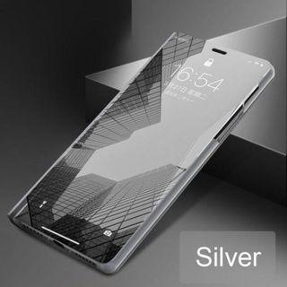iPhone 7/7+/8/8+ Electroplated Mirror Flip Case