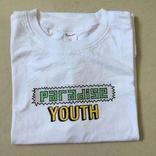 Kaos paradise youth white L